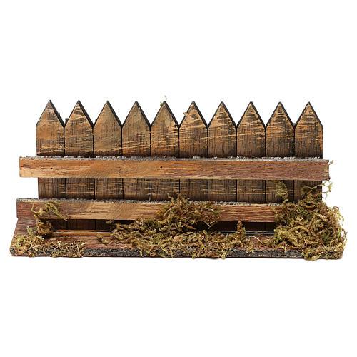 Cerca de madera cm 15 x 3 1