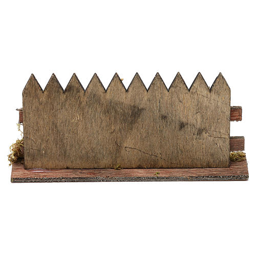 Cerca de madera cm 15 x 3 3