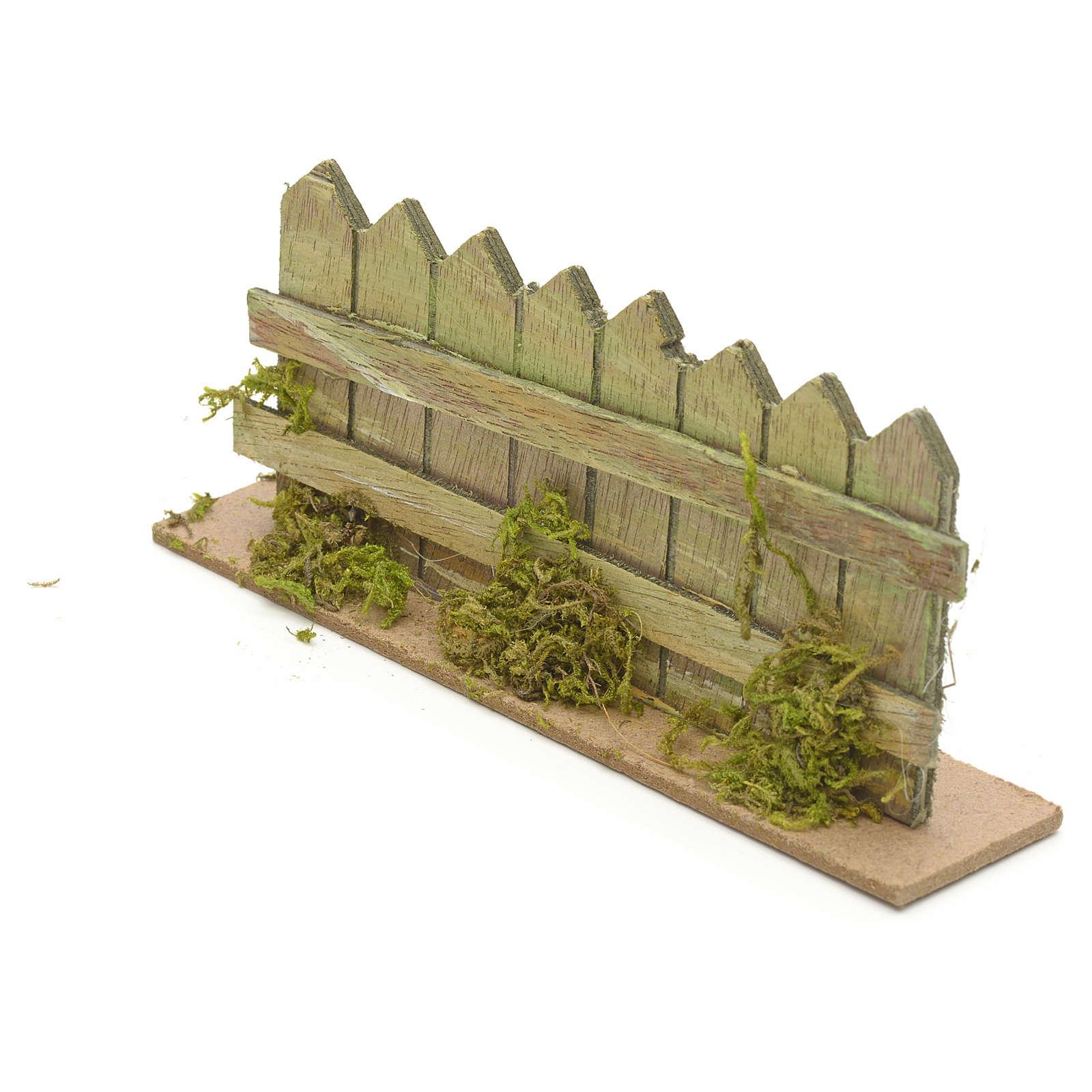 Palissade en miniature pour crèche cm 15x3 4