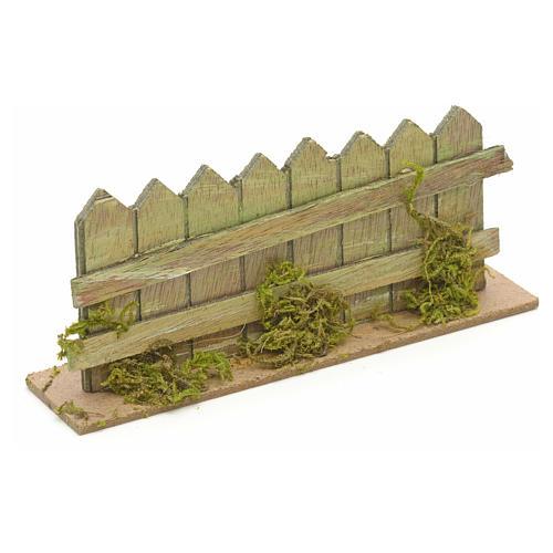 Palissade en miniature pour crèche cm 15x3 1