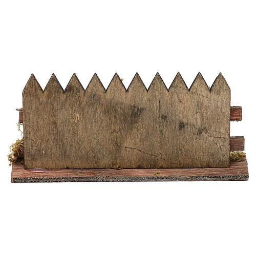 Staccionata legno cm 15x3 3