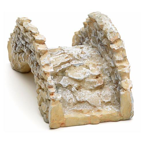 Pont type pierre en miniature, résine 2