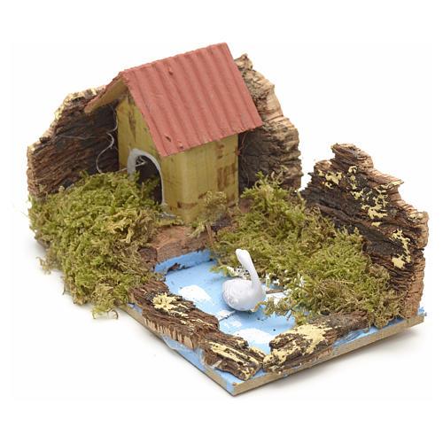 Casa con lago 10x6 2