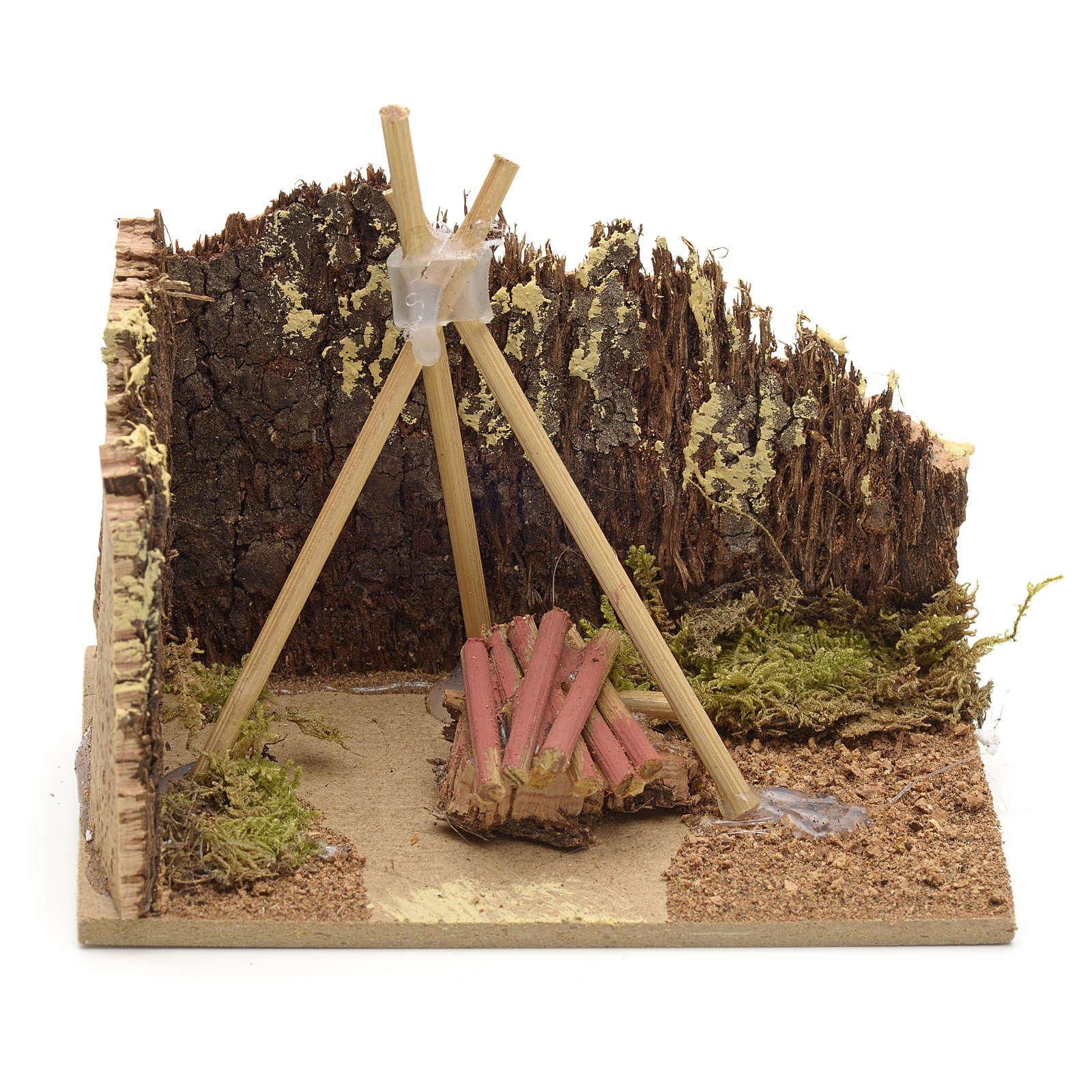 Base per fuoco 10x6 4