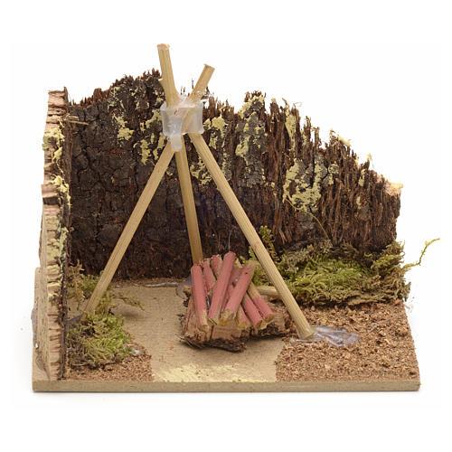Base per fuoco 10x6 1