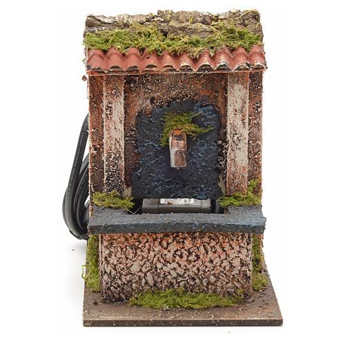 Mini fontaine électrique pour crèche 15x10x15cm 1