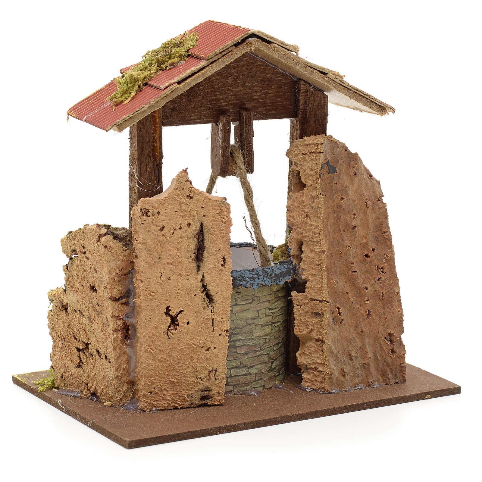 Puits en miniature pour crèche 4