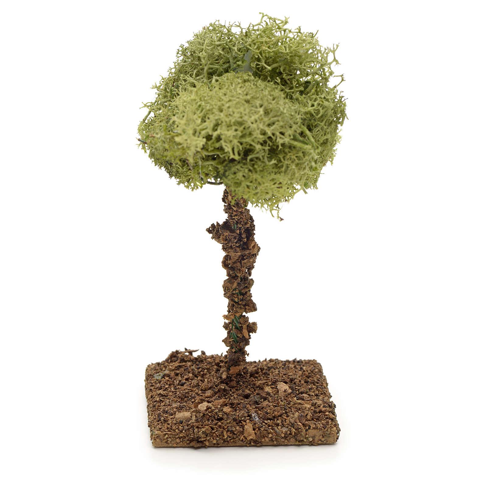 Arbre de lichens pour crèche 9 cm 4