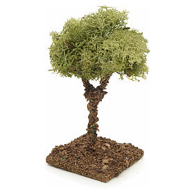 Arbre de lichens pour crèche 9 cm s2