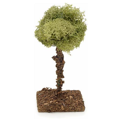 Arbre de lichens pour crèche 9 cm 1