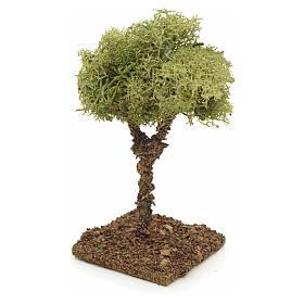Nativity accessory, lichen tree 9cm s2