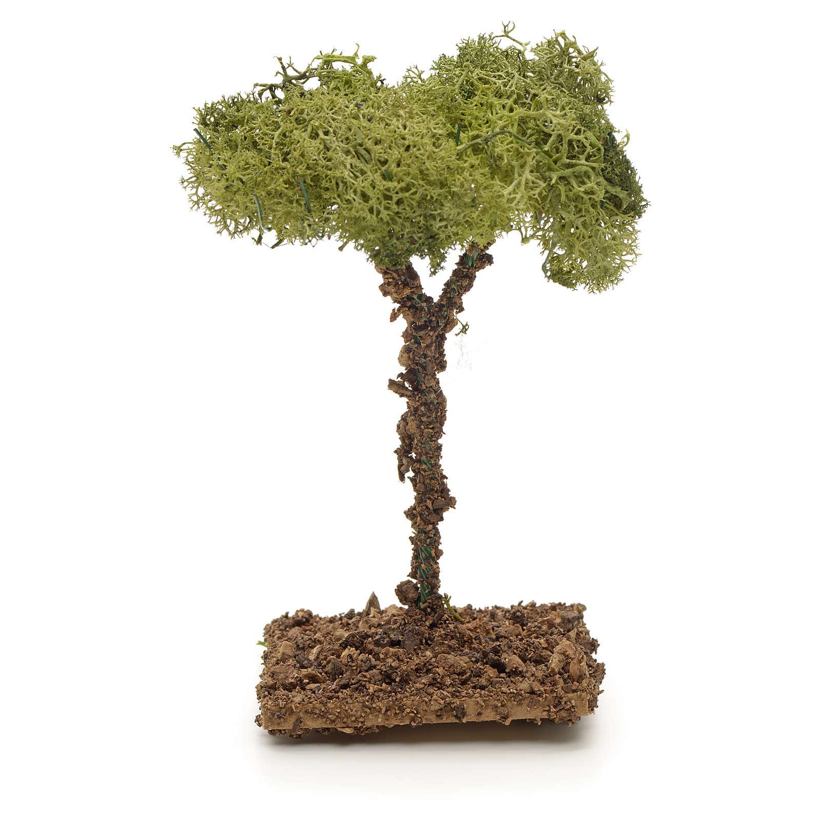 Arbre de lichens pour crèche 12 cm 4