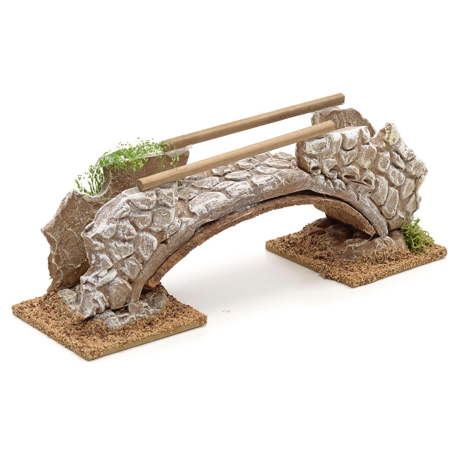 Ponte in terracotta stile nordico 8x21x6 cm 4