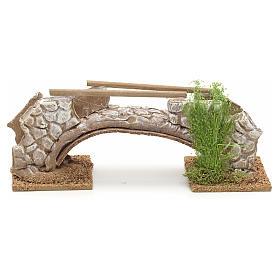 Ponte in terracotta stile nordico 8x21x6 cm s1
