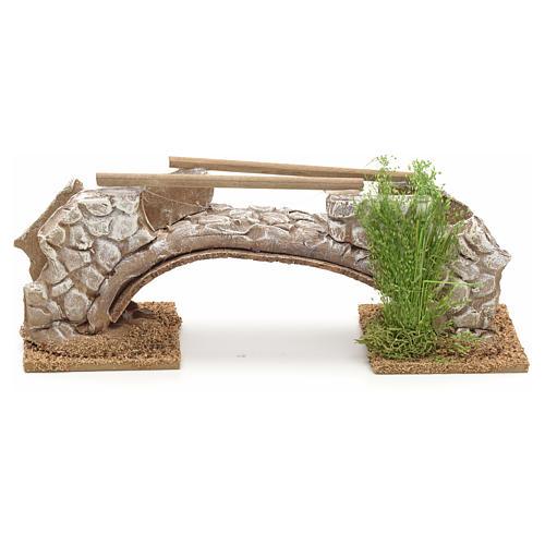 Ponte in terracotta stile nordico 8x21x6 cm 1