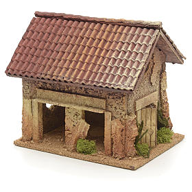 Casa rurale stile nordico 19x15x20 cm s2