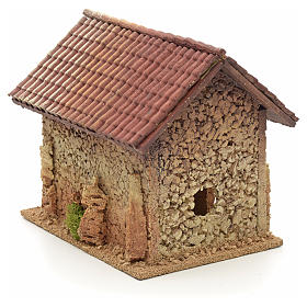 Casa rurale stile nordico 19x15x20 cm s4
