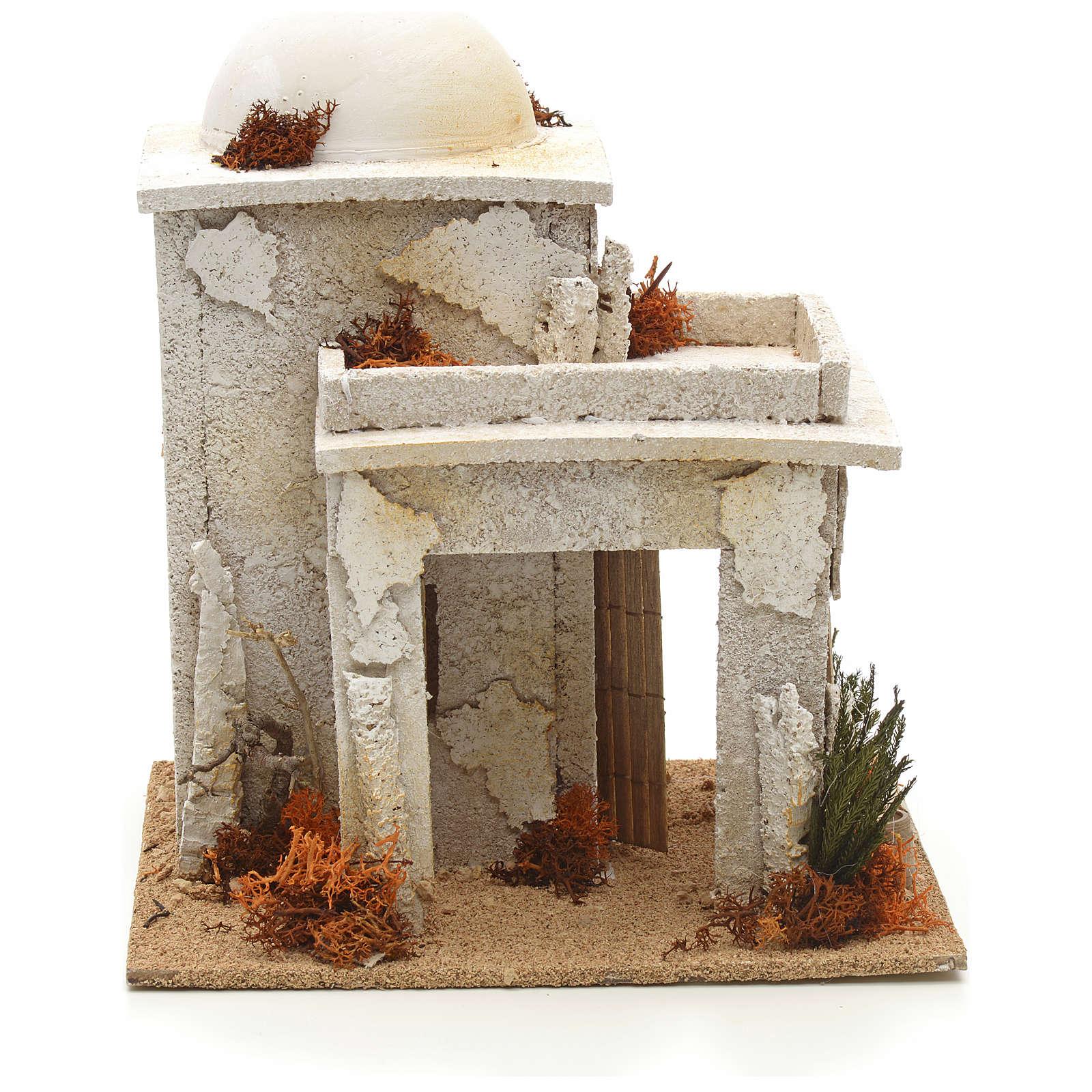Maison arabe en miniature avec atelier du menuisier 4