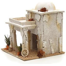 Maison arabe en miniature avec atelier du menuisier s2