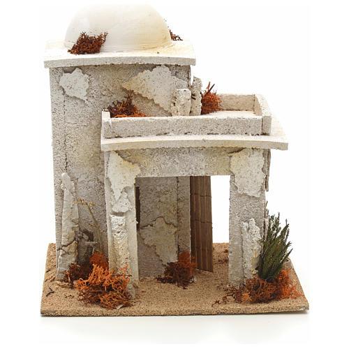 Maison arabe en miniature avec atelier du menuisier 1