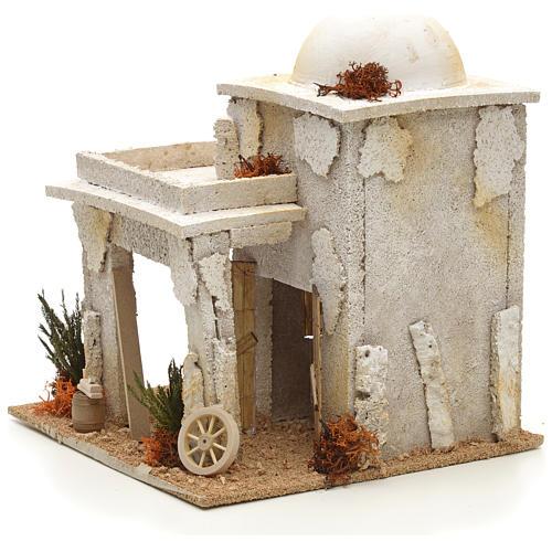 Maison arabe en miniature avec atelier du menuisier 2