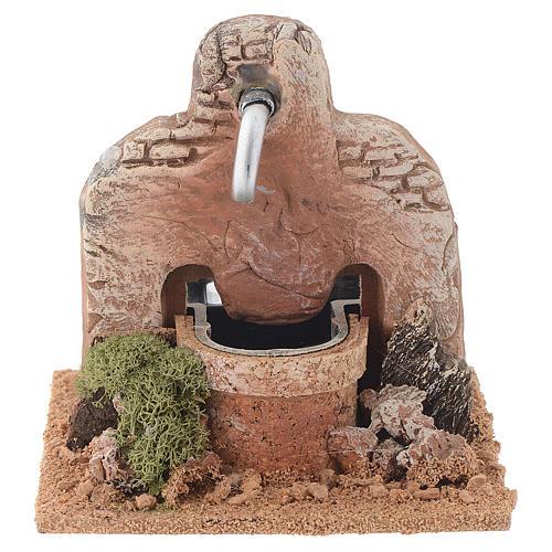 Fuente terracota 13x12x12 cm 1