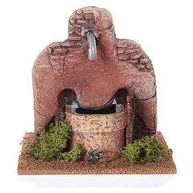 Fontana terracotta stile arabo 13x12x12 cm s1
