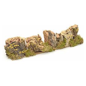 Décor crèche roches en liège 4x24x6 s1