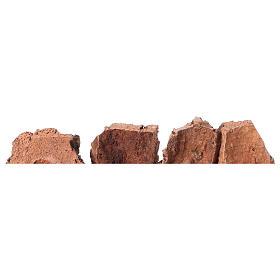 Décor crèche roches en liège 4x24x6 s4