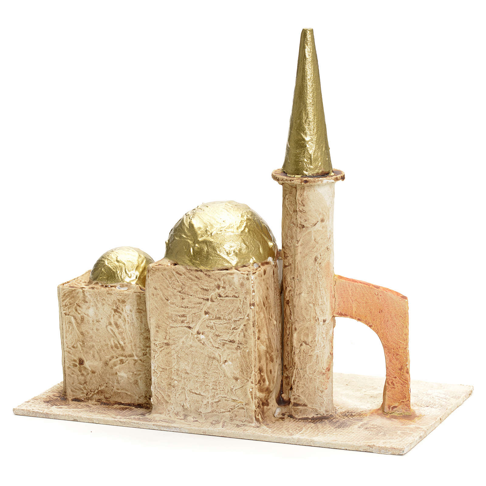 Nativity setting, minaret with tower 18x19x11cm 4