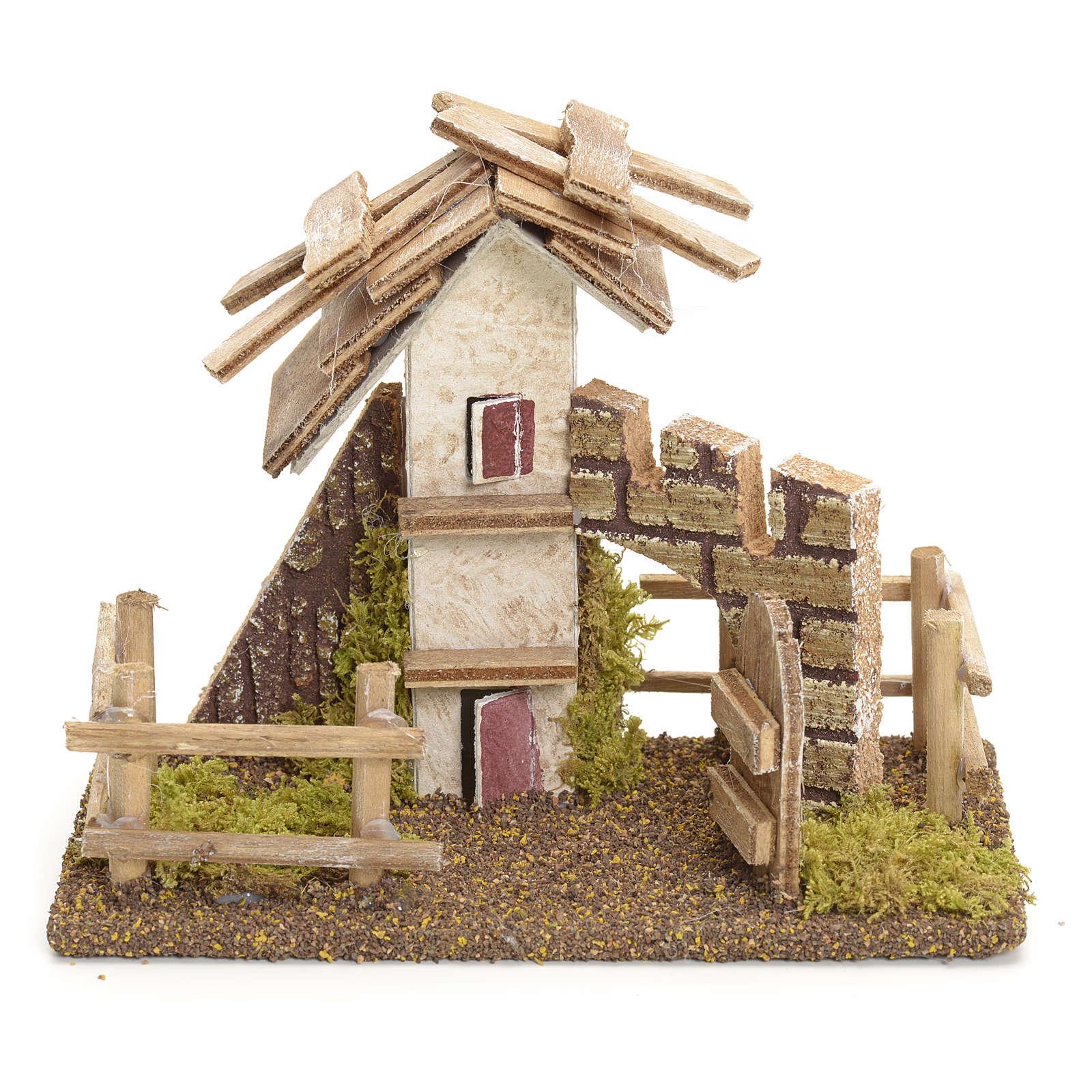 Casa rustica con staccionata 11x13x6 4