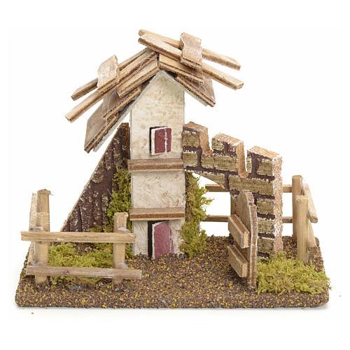 Casa rustica con staccionata 11x13x6 1