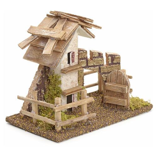 Casa rustica con staccionata 11x13x6 2