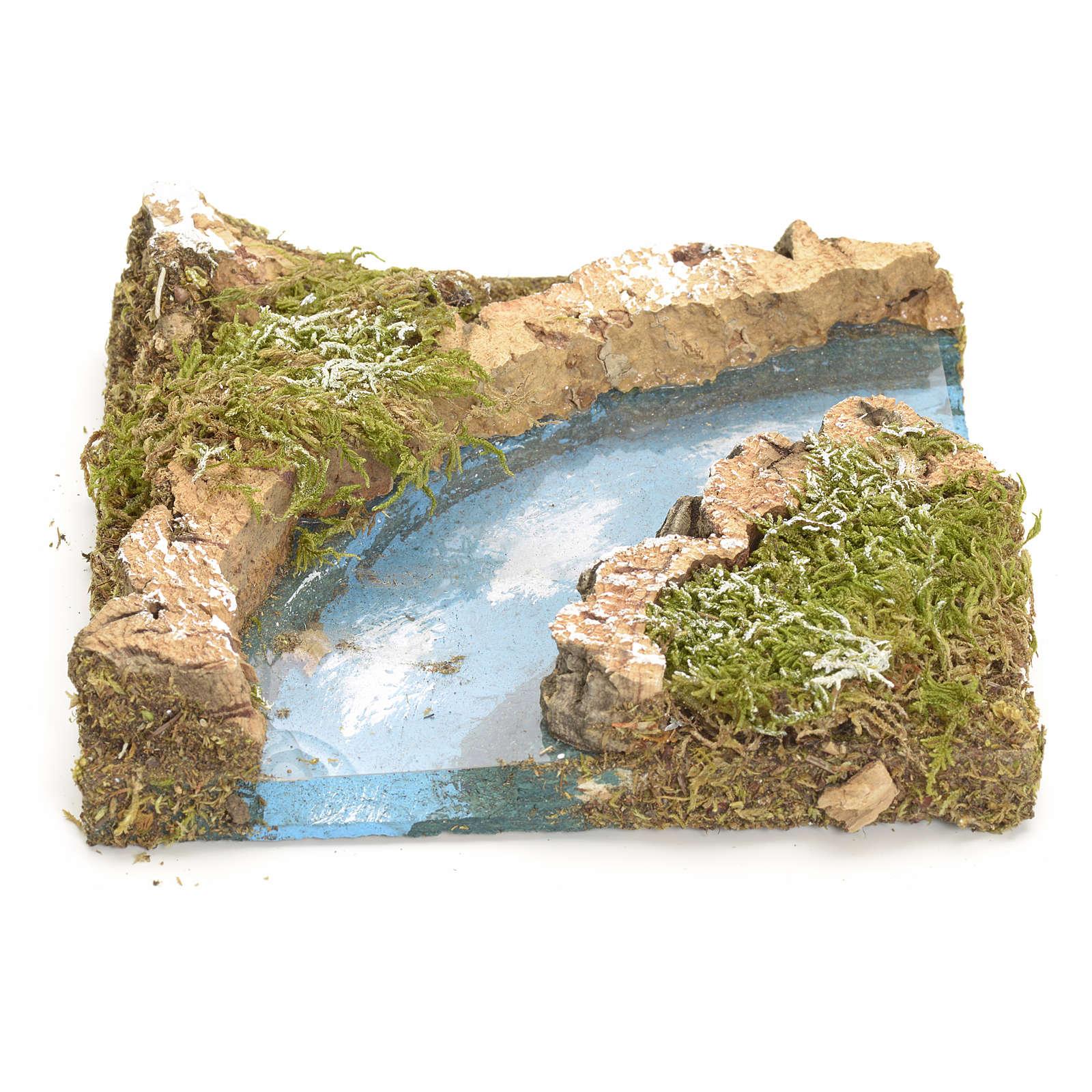 Nativity setting, river turn in cork 4