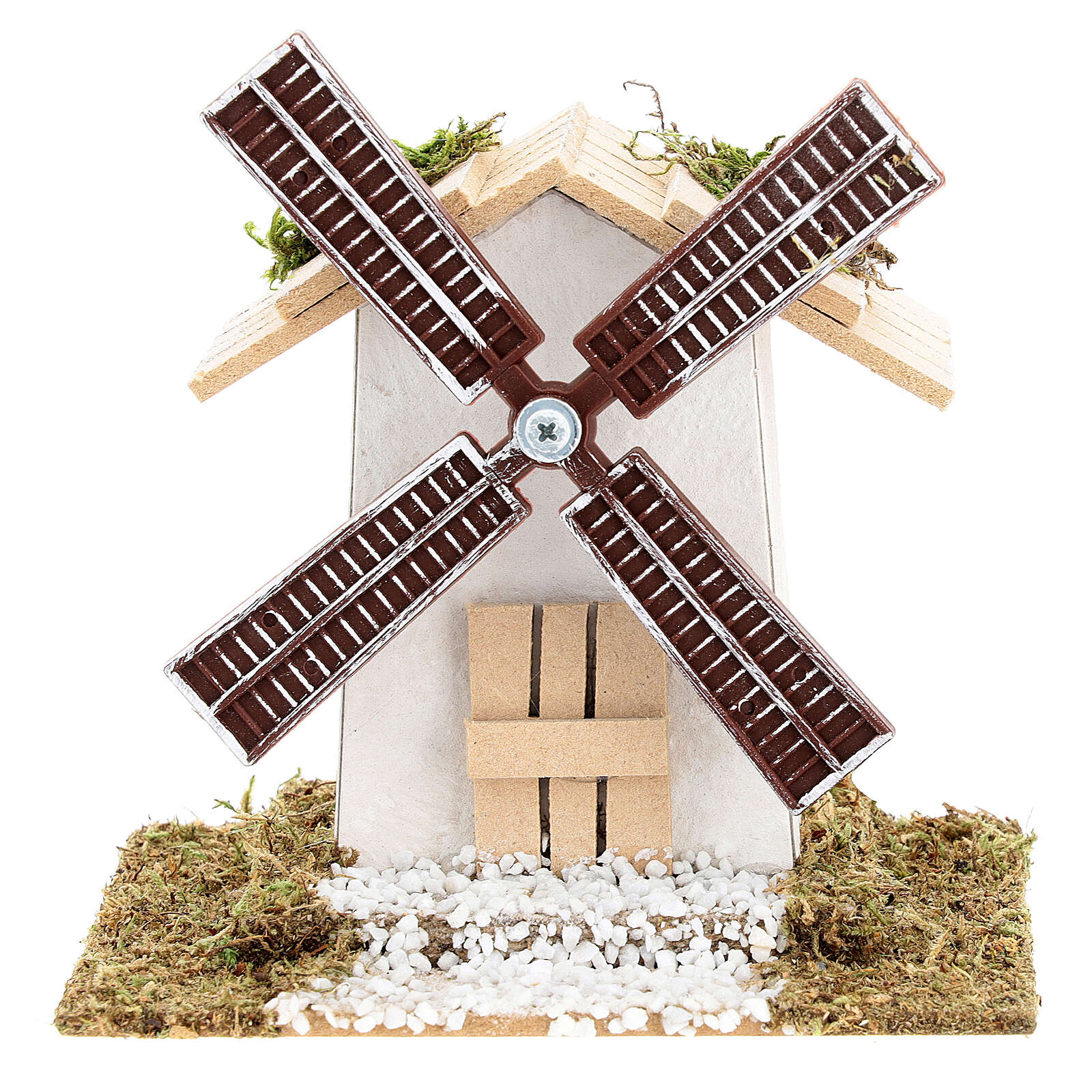 Electric wind mill for nativities 12x13x9cm 4