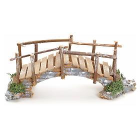 Nativity setting, bridge with edges 10x23x8cm s1