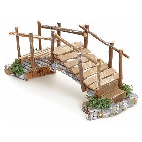 Puente pesebre con pasamano 10x23x8 s2
