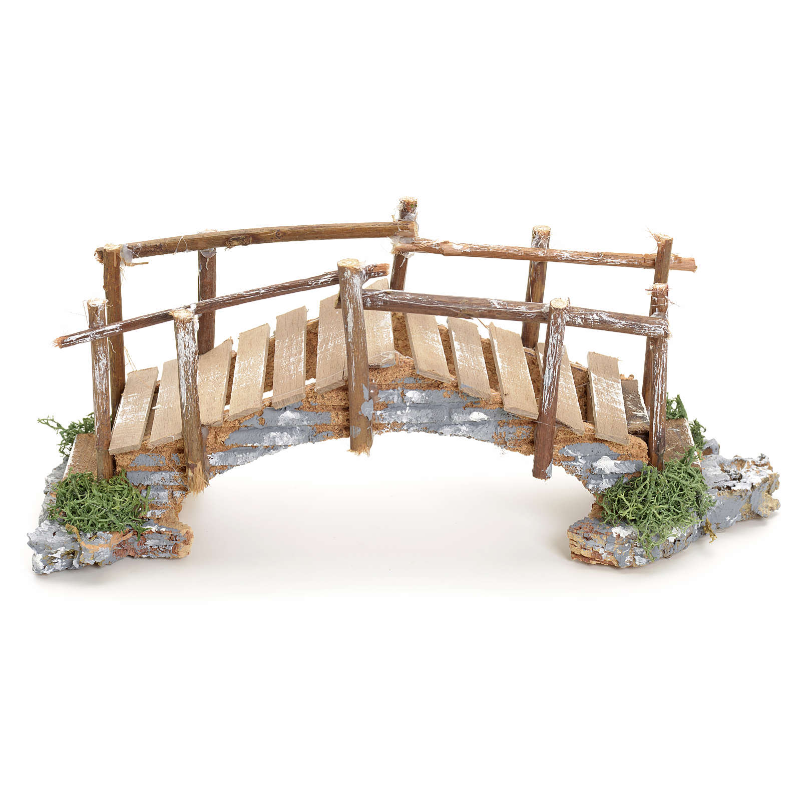 Nativity setting, bridge with edges 10x23x8cm 4