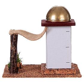 Casa árabe sola con toldo 14 cm s4