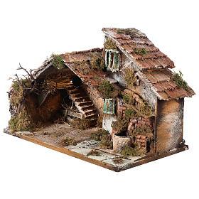 Nativity scene stable, Neapolitan style 40x23xz28 s3