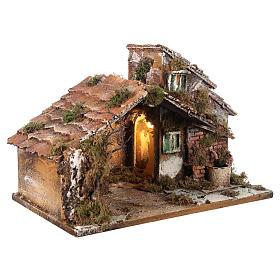 Nativity scene stable, Neapolitan style 40x23xz28 s4