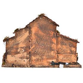 Nativity farmhouse , Neapolitan nativity 40x38x40cm s4