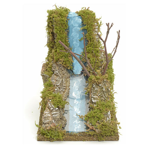 Nativity setting, river falls 1