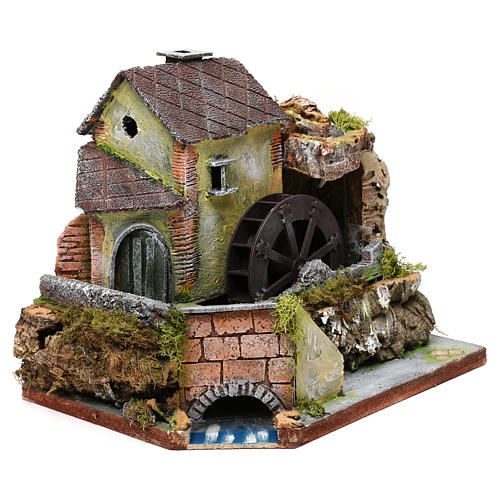 Nativity accessory, old water mill 3