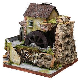 Viejo molino de agua: ambiente para pesebre s2