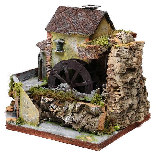 Viejo molino de agua: ambiente para pesebre 2