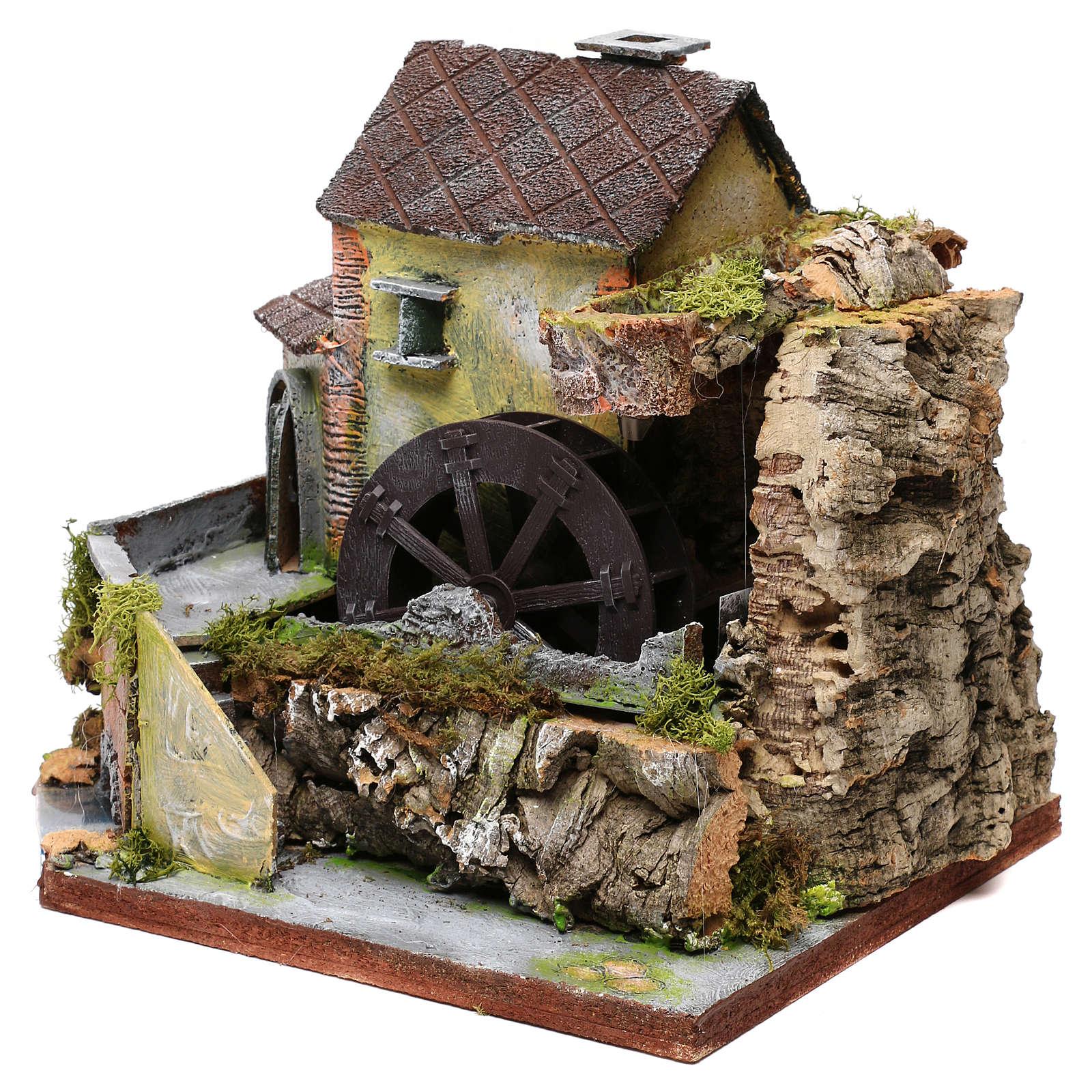 Ancien moulin à vent, milieu pour crèche 4