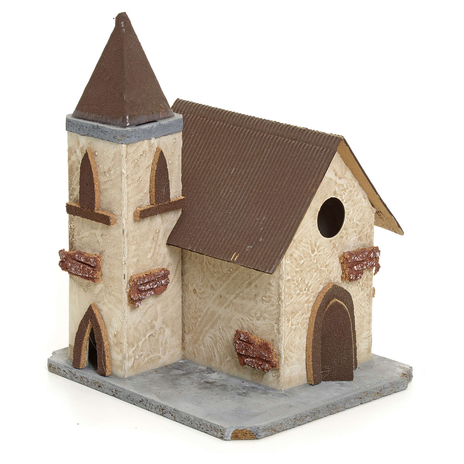 Chiesa di campagna per presepe 4