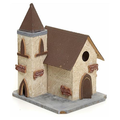 Chiesa di campagna per presepe 2