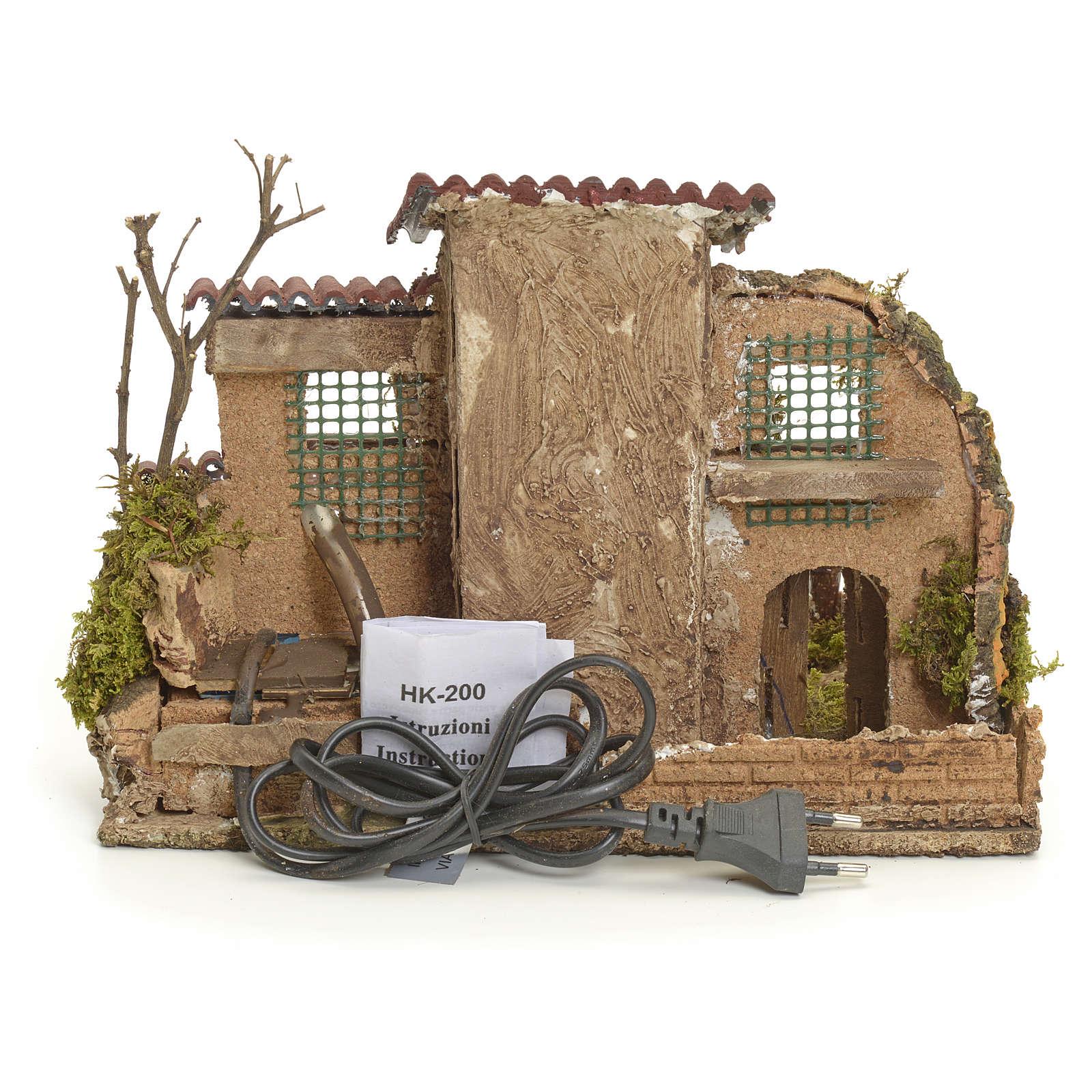 Borgo rustico con fontanella elettrica 4